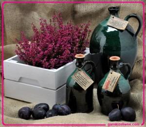 butle gliniane, butelki z gliny, butelki gliniane polskie