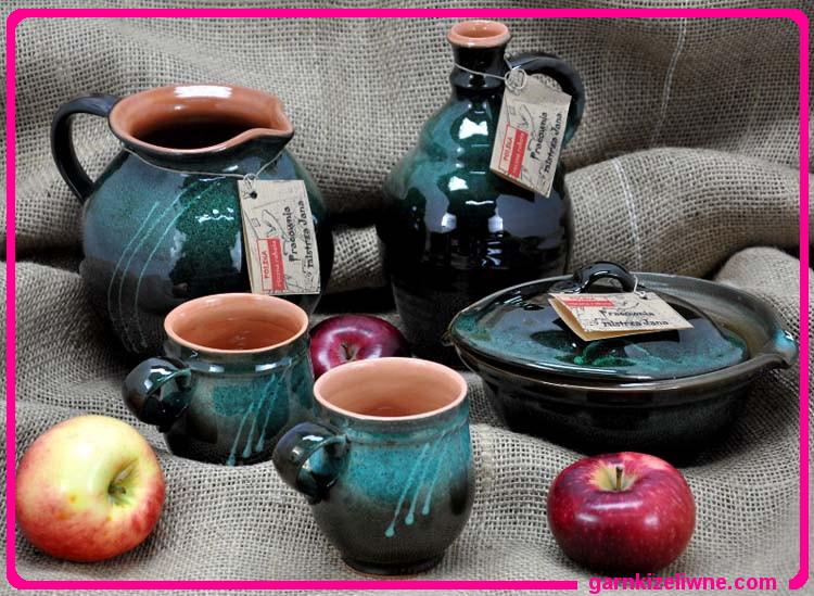 naczynia gliniane, garnki gliniane, naczynia ceramiczne