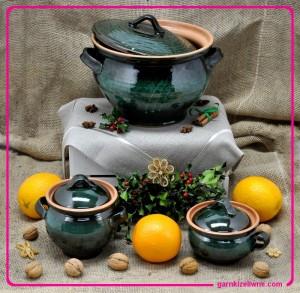 naczynia z gliny