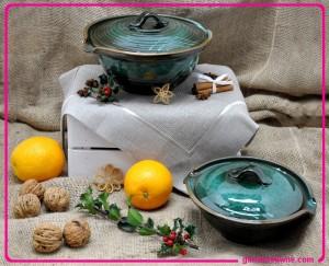 polskie rękodzieło, naczynia gliniane polskie, misy gliniane